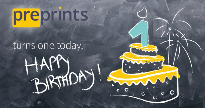 Preprints Birthday web